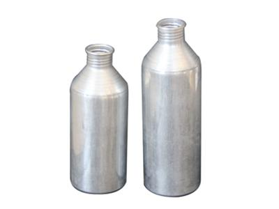 Pesticide bottle and other aluminum squeeze tube